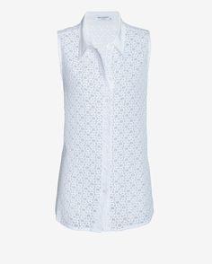 crochet lace blouse / equipment
