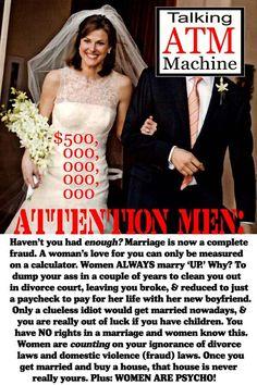 Marriage Fraud | MGTOW
