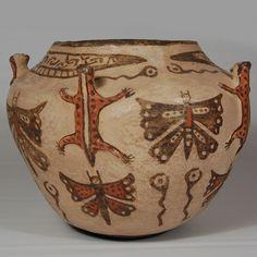 zuni indian miniture pottery | Southwest Indian Pottery | Zuni Pueblo | Historic | Zuni Pueblo Jar ...