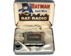 Batman radio from thee 1960s.