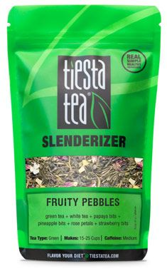 Tiesta Slenderizer Fruity Pebbles Blend Loose Tea #HerbalTea