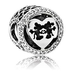 http://rubies.work/0274-ruby-rings/ Mickey and Minnie Mouse Sweetheart Charm by PANDORA