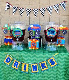 MONSTER Truck - Monster Truck Party - DRINK BANNER