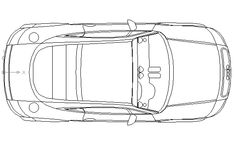 Audi TT Typ 8N in Vehicles / Cars - Ceco.NET free autocad drawings