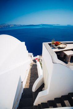 Blue Aegean, Oia, Santorini, Greece