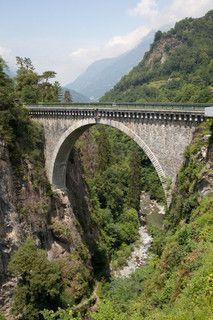 France, Hautes-Pyrénées, Luz-Saint-Sauveur, le Pont Napoleon by jpazam, via Flickr