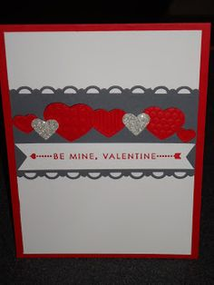 Stampin' Up! Valentines, Hearts, Love