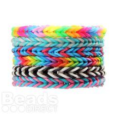 Fishtail Braiding Loom Bands