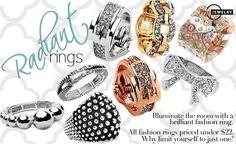 Rings www.justjewelry.com/cherylbrock