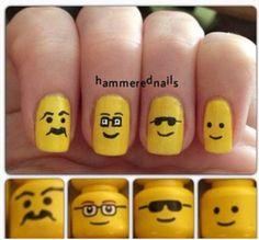 Photo by hammerednails Nail Polish Art, Toe Nail Art, Toe Nails, Fabulous Nails, Gorgeous Nails, Pretty Nails, Pedicure Designs, Nail Art Designs, Pedicure Ideas
