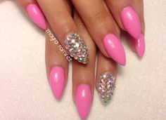 Stiletto with bling..