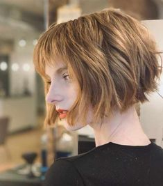 Short Haircut: The Most Beautiful Hairstyles Looks - - Short Hairstyles - Hairstyles 2019 Modern Bob Hairstyles, Sporty Hairstyles, Choppy Bob Hairstyles, Best Short Haircuts, Short Hairstyles For Women, Cool Hairstyles, Beautiful Hairstyles, Bob Haircuts, Pixie Cut