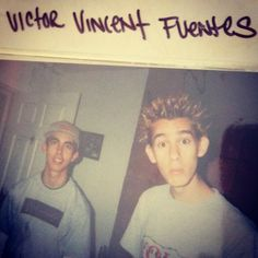 Vic and Mike Fuentes in high school Emo Bands, Music Bands, Rock Bands, Sleeping With Sirens, Of Mice And Men, Kellin Quinn, Band Memes, Black Veil Brides, Pierce The Veil