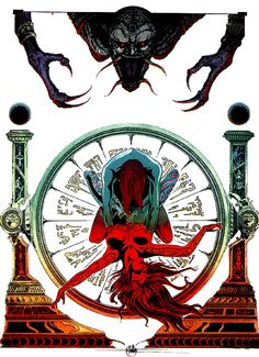 Feb 16: Ceremonial Thermostat - Yragael - Philippe Druillet.