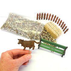 Miniature Country Farm Garden Kit for Miniature Garden  | #farm #miniaturegarden