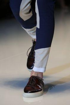 Sfilata #Gucci Milano Moda Uomo Spring Summer 2014 - #shoes #sneakers