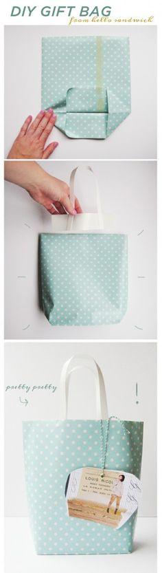 Hediye çantası yapımı
