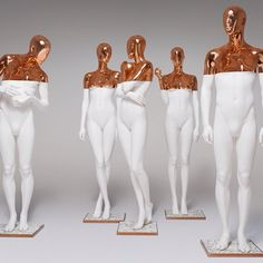 WEBSTA @ hansboodtaustralia - PARIS WHITE COPPER by Hans Boodt Mannequins #paris…