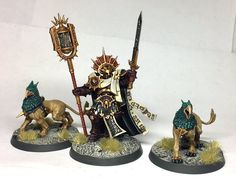 Lord-Veritant & Gryphon-hounds | Astral Templars