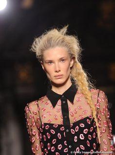 Hair, Skin, Makeup and Men's beauty products Giles Deacon, Cecil Beaton, Beauty Magazine, Loreal Paris, Designer Wallpaper, Braids, London Fashion, Fashion Fashion, Skin Care