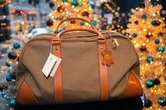 We're feeling rather festive here at Whitehouse Cox! Loving this shot of the Mountbatten Holdall surrounded by Christmas trees. #WhitehouseCox