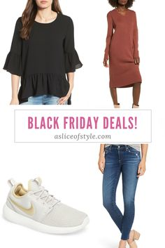 I have a special Black Friday Deals tab I am updating as sales go live! Find the best jeans, tops, dresses, shoes, sweaters and so much more! Women's fashion | Deals | Nordstrom | Jeans outfit | Fall fashion | Winter fashion | Sneakers