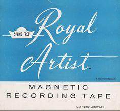 60's recording tape