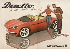 Alfa Romeo Vintage Ad