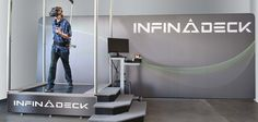 Infinadeck treadmill is new 360 degrees omnidirectional treadmill. It is full of high level intelligence that makes workout lot more fun.