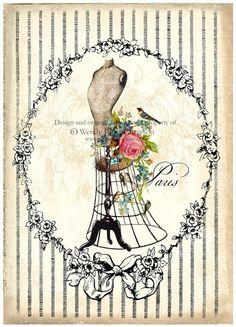 mannequin rose sepia