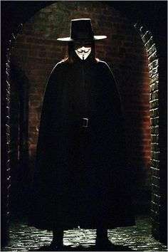 V for Vendetta : Hugo Weaving was so mysteriously sexy in this movie :)