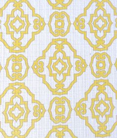 Bright colors on linen are perfect for spring!