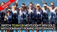 Team GB men's eight win gold