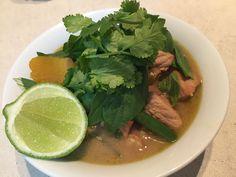 Thai Lemongrass pork curry