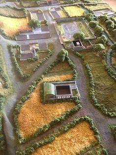 Terrain mat Wargaming Table, Wargaming Terrain, Game Boards, Board Games, 40k Terrain, Gnome Garden, Mini Games, Farm Gardens, Tabletop Games