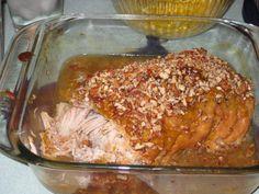 Honey Peach Pork Roast from munchiesmind.com Hands down, the best pork roast ever!