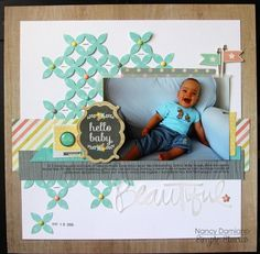 Simple Stories - Hello baby - Layout