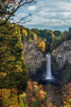Taughannock Fall 3 by Mark Papke Prints for sale. Click on picture.