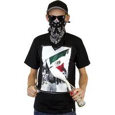 Joker Brand T-Shirt Mexiko Flag black ★★★★★