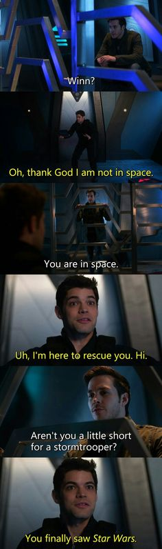 #Supergirl2x17 ~Distant Sun~ Winn and Mon-El