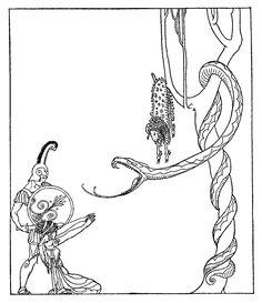 [Illustration] from Golden Fleece by Padraic Colum