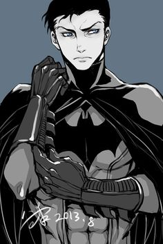 Batman Fan Art-->Daddy Bats! (Bruce Wayne!)