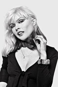 Debbie Harry photographed by Lynn Goldsmith,1977.