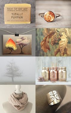 Early Autumn by fionafowler on Etsy featuring ZaZing --Pinned with TreasuryPin.com