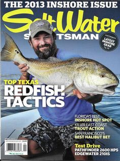 3eea7a3b473 Details about Saltwater Sportsman Fishing Magazine Top Texas Redfish  Tactics Inshore Issue