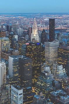 """visualechoess: """" NYC - by: Barry Hee """" Places To Travel, Places To See, Cuba, Empire State Of Mind, Nyc Skyline, I Love Nyc, New York City Travel, City Aesthetic, Concrete Jungle"""