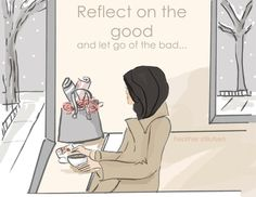 Wall Art for Women  Reflect on the Good by RoseHillDesignStudio