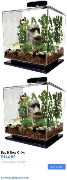 Animals Fish And Aquariums: Cube Aquarium Starter Kit Tank Led Light Water Filter Betta Goldfish Small Fish BUY IT NOW ONLY: $144.99 #priceabateAnimalsFishAndAquariums OR #priceabate