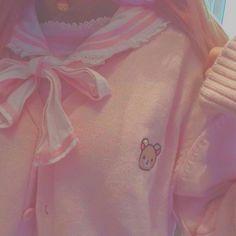Kawaii Fashion, Cute Fashion, Petite Fashion, Fall Fashion, Style Fashion, Ropa Color Pastel, Looks Kawaii, Baby Pink Aesthetic, Cool Stuff