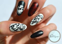 Punk Rock nails.